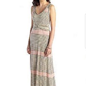 Max Edition Striped Maxi Dress Size Medium NWT